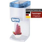 4in1 Gino Gelati IC-50W-W Softeismaschine Eismaschine Frozen Yogurt-Milchshake Maschine Flaschenkühler -